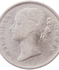 East India Company One Rupees 1840 Queen Victoria Empress Silver Coin 11.6gram Daimeter 30.5 mm
