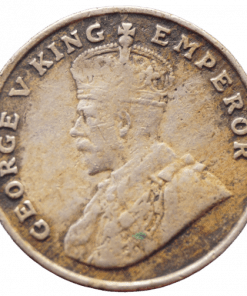 8 Anna 1919 Rare Coin of George V Emperor