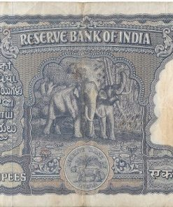 100 Rupee Note Signed By Iyengar - Elephant Issue Note Very Rare