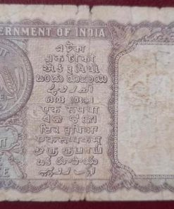 One Rupees India Very rare 1964 Bhootlingam Governor Condition as Per Image No Repairing