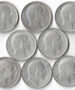 One Rupee Edward Vii Full Set 1903,04,05,06,07,08,09,10****Lowest Price**** British India Coins Collection Must Have