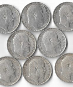 One Rupee Edward Vii Full Set 1903,04,05,06,07,08,09,10****Lowest Price**** British India Coins Collection Must Have #2